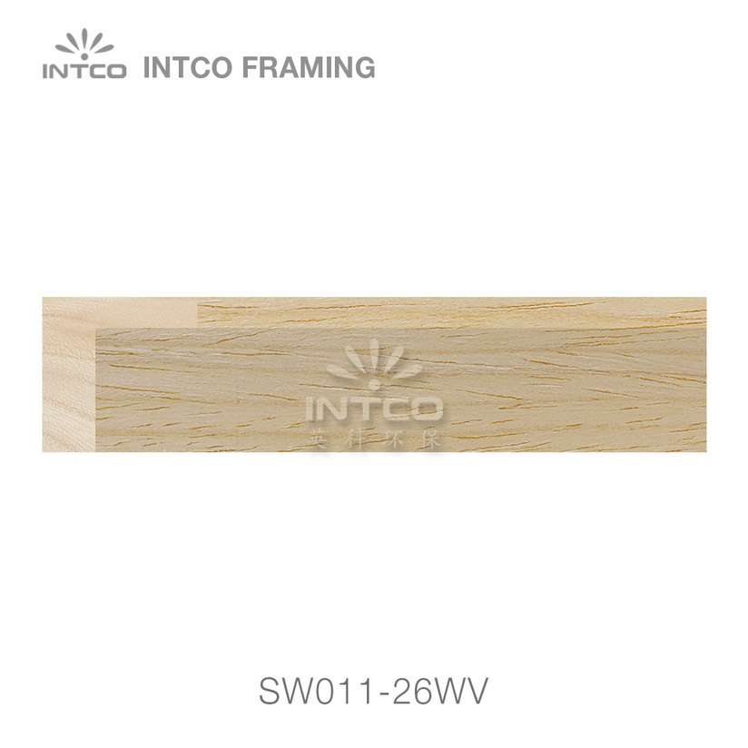SW011-26WV wood picture frame moulding swatch sample