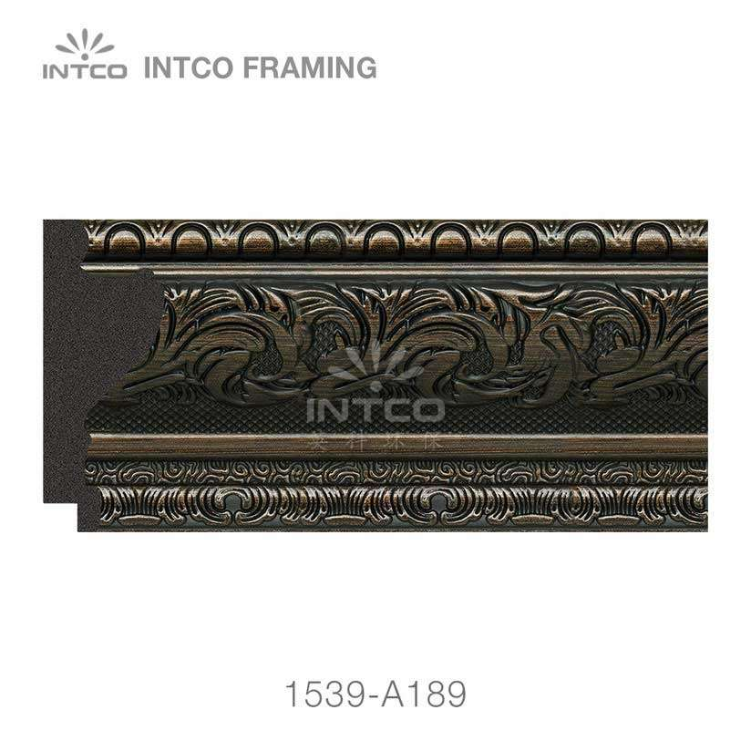 INTCO 1539-A189 bronze picture frame moulding for sale
