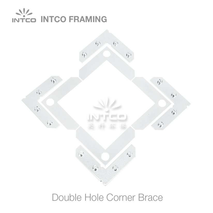 picture frame L shape flat plate set of 4