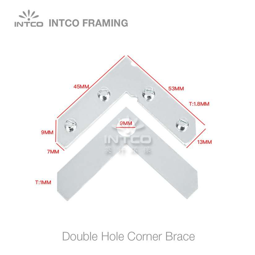 size of picture frame L shape flat plate