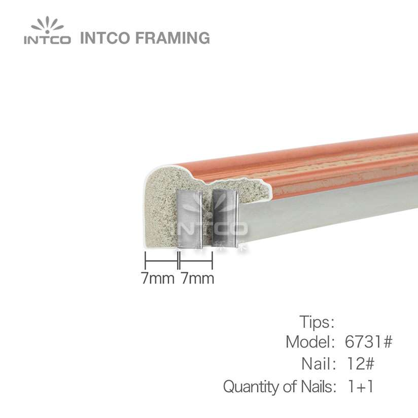 tips for nailing P6731 moulding
