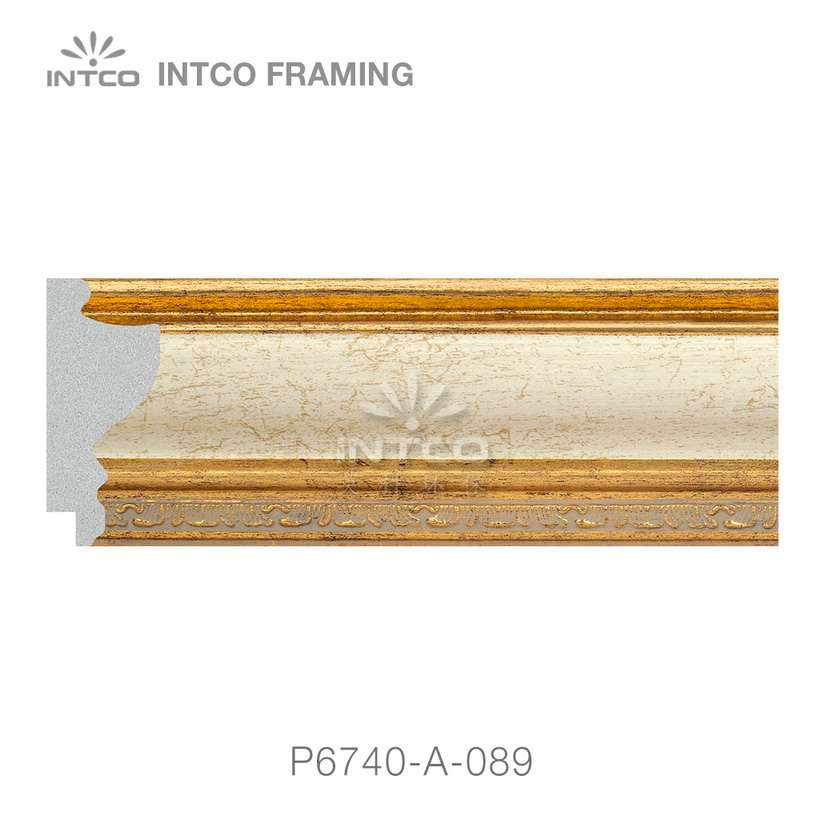 P6740-A-089 picture frame moulding by the foot