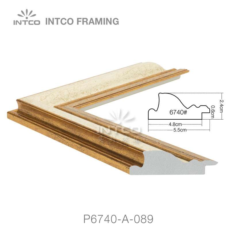 P6740-A-089 classic picture frame moulding