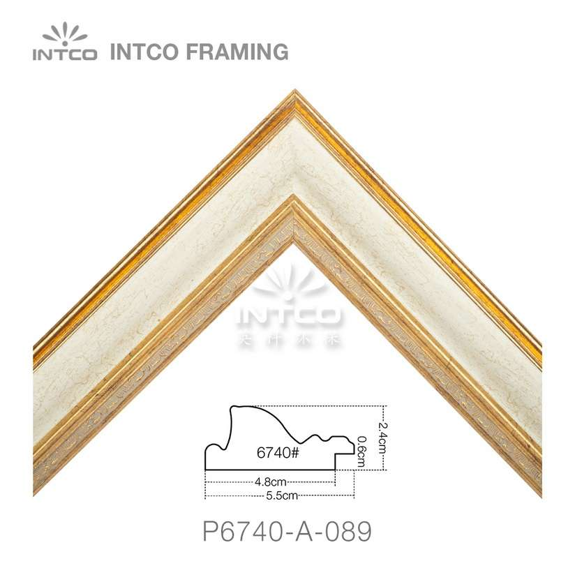 P6740-A-089 picture frame moulding in lengths