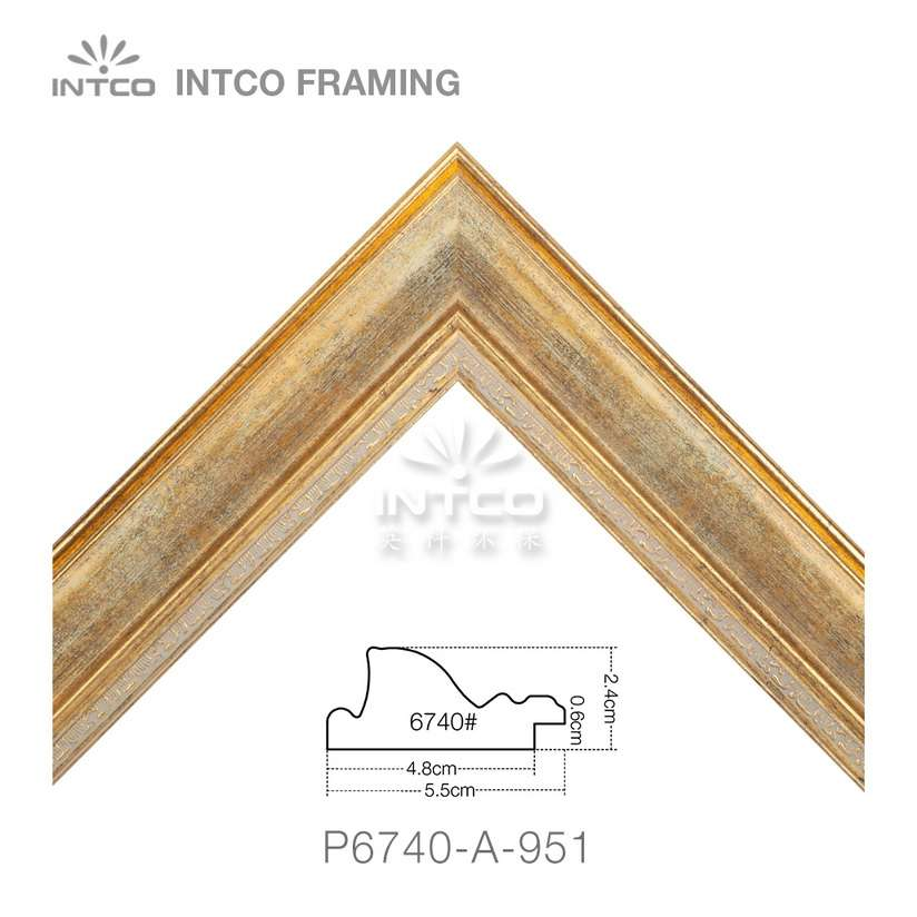 P6740-A-951 picture frame moulding in lengths