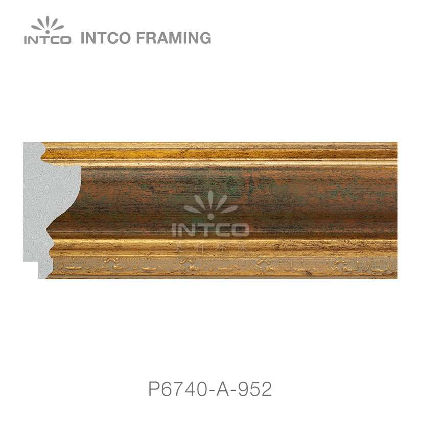 P6740-A-952 picture frame moulding by the foot