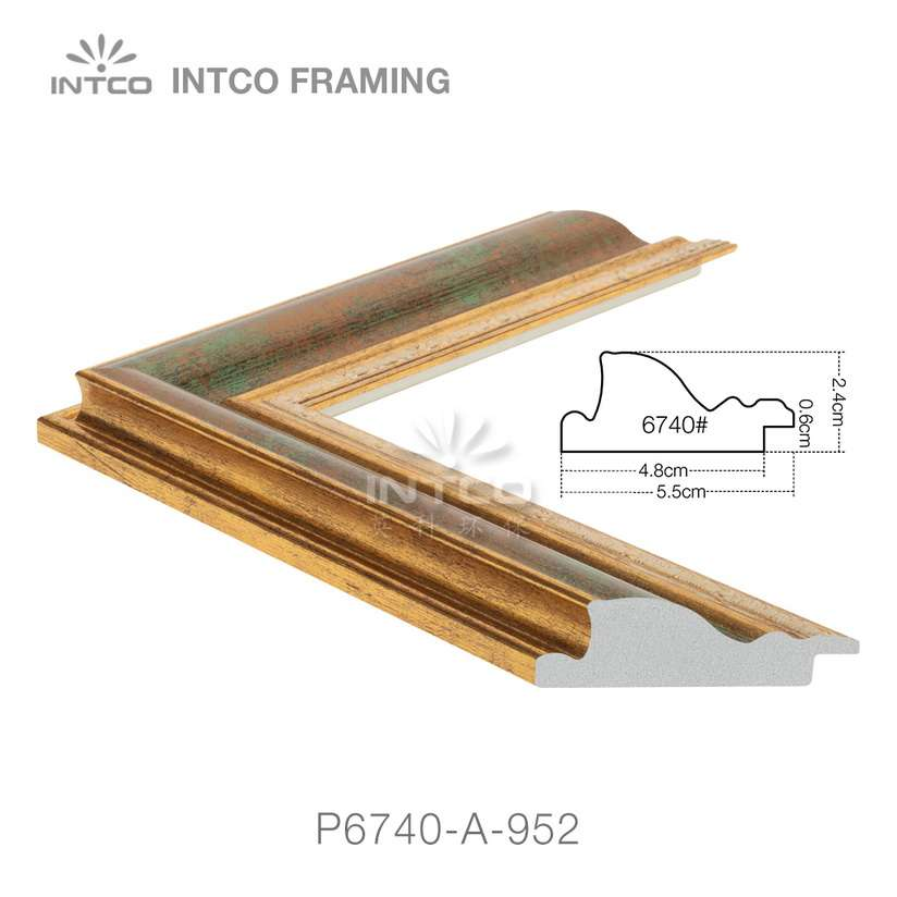 P6740-A-952 classic picture frame moulding
