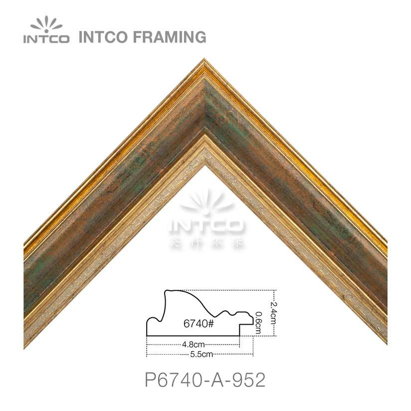 P6740-A-952 picture frame moulding in lengths