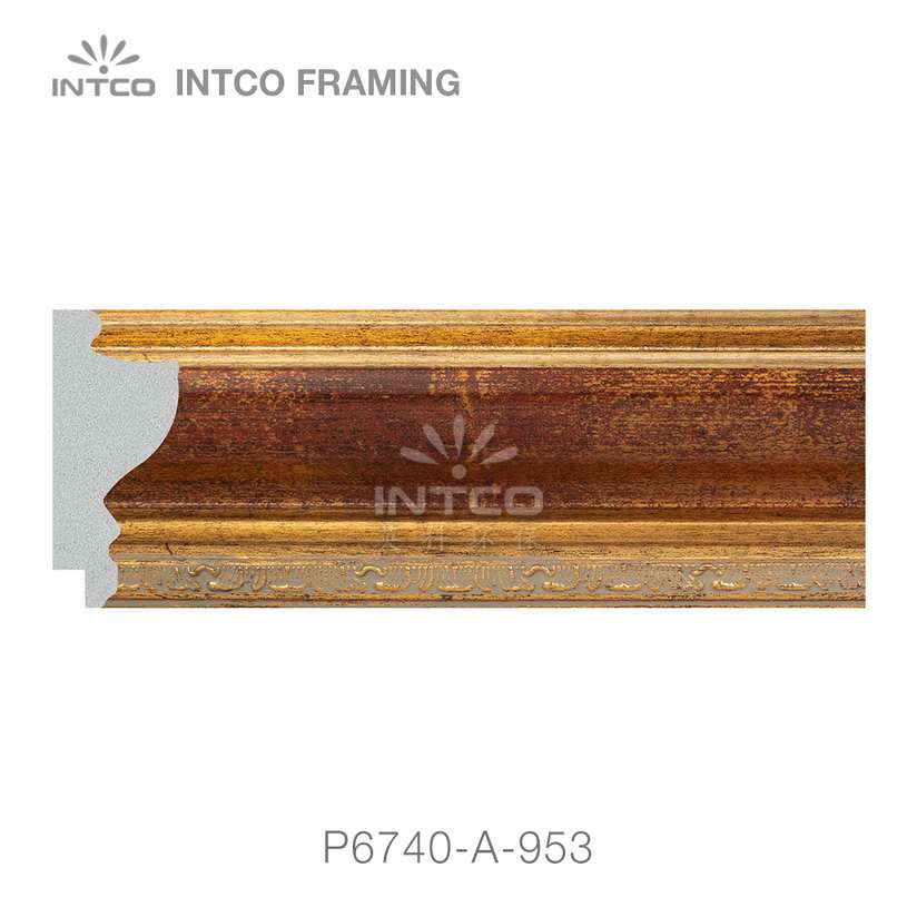 P6740-A-953 picture frame moulding by the foot
