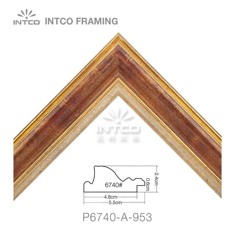 P6740-A-953 unfinished picture frame moulding