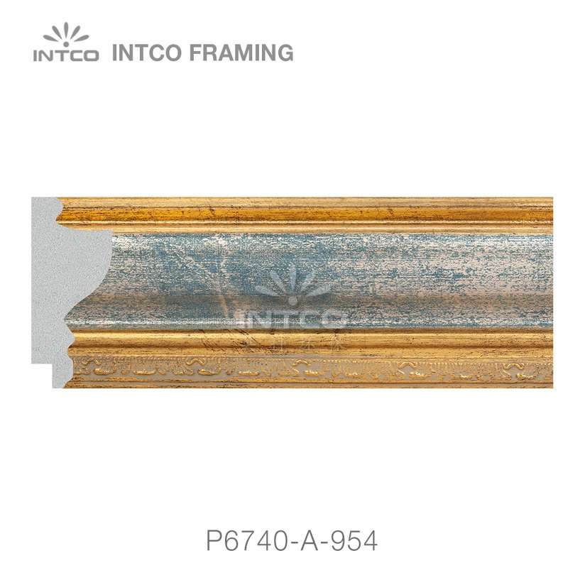 P6740-A-954 picture frame moulding by the foot