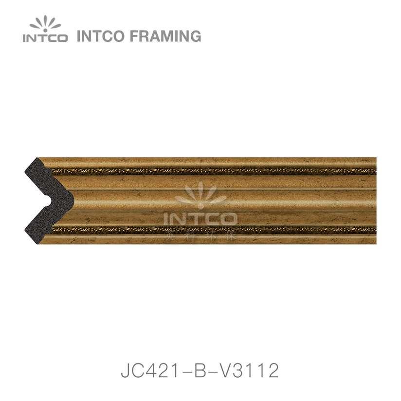 JC421-B-V3112 gold corner moulding for sale