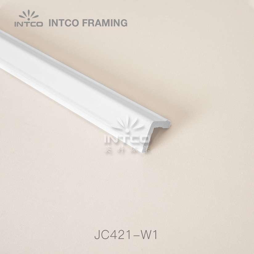JC421-W1 white corner moulding wholesale
