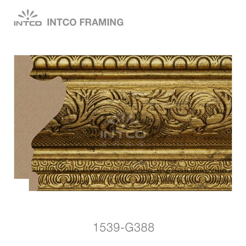 INTCO 1539-G388 classic picture frame moulding for sale