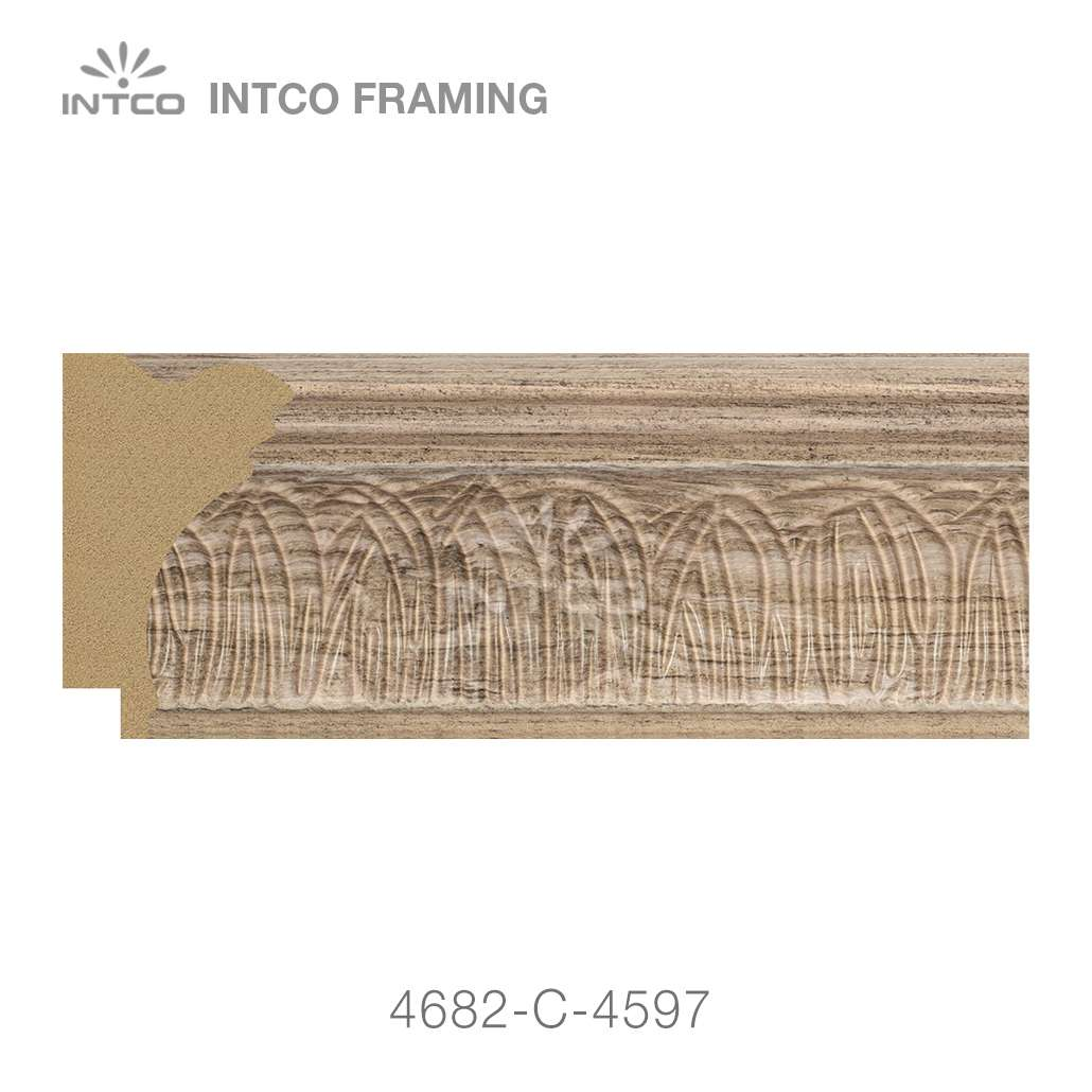 4682-C-4597 picture frame moulding by foot