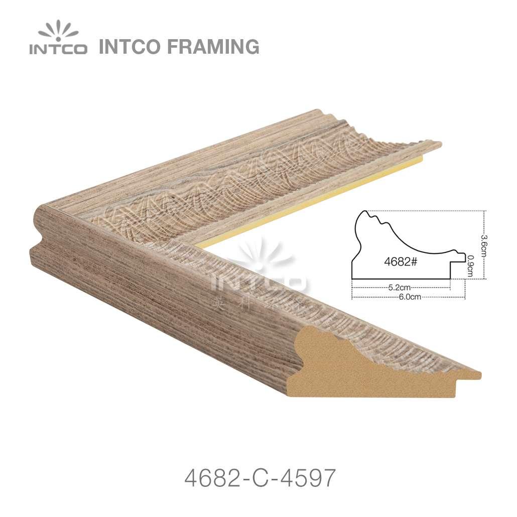 4682-C-4597 polystyrene picture frame moulding