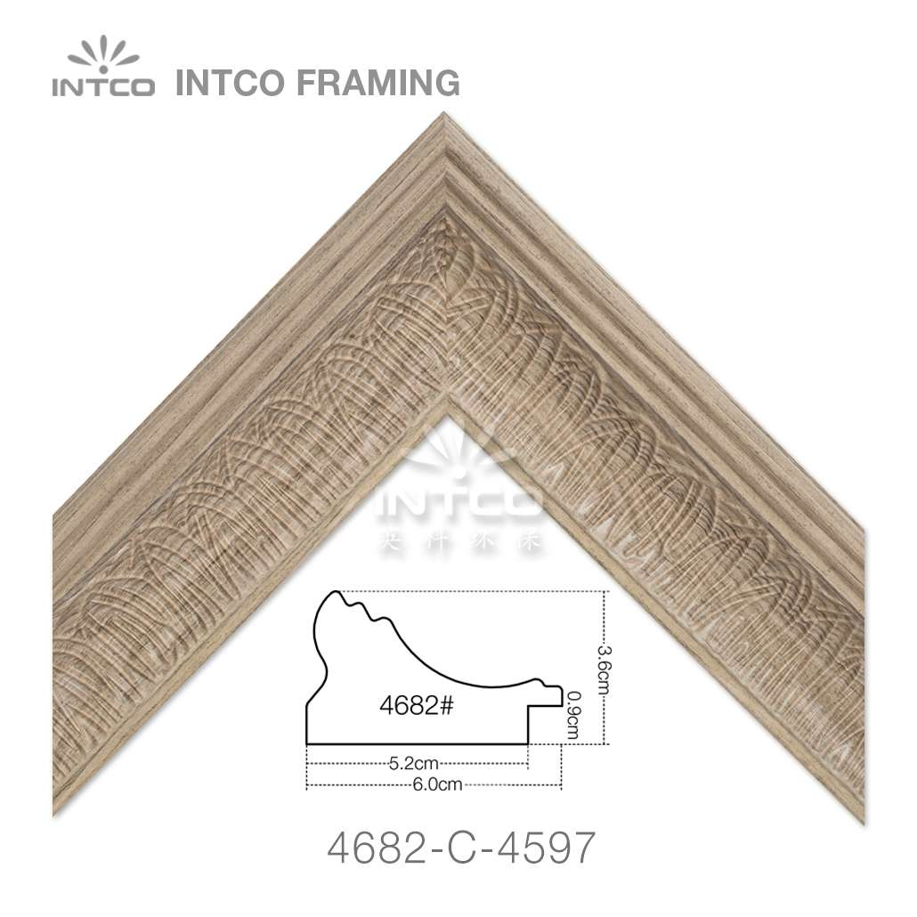 4682-C-4597 unfinished picture frame moulding