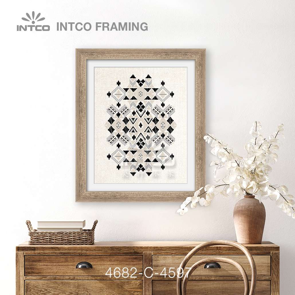 #4682 picture frame moulding ideas for wall art décor