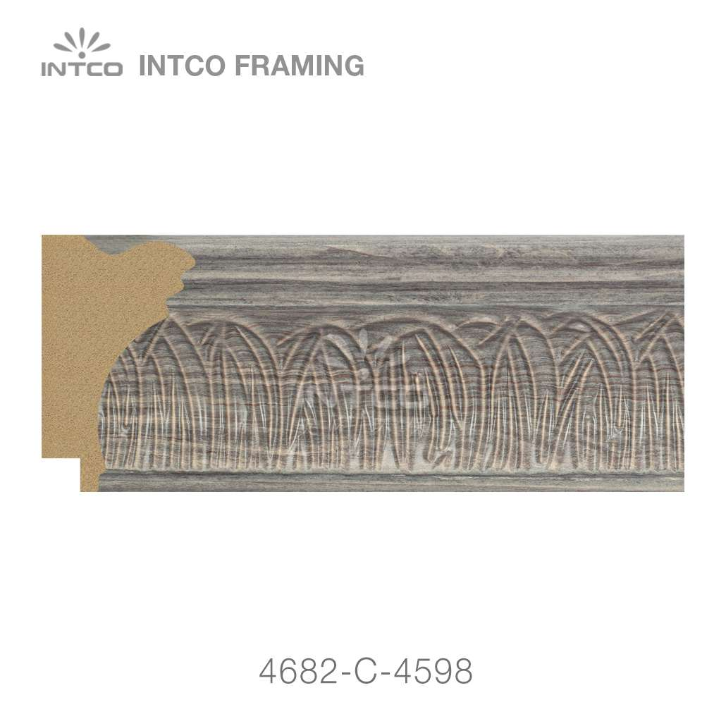 4682-C-4598 picture frame moulding by foot