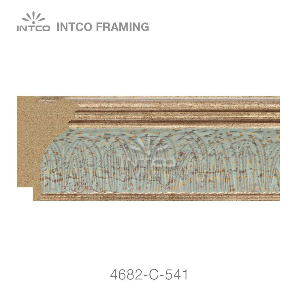 4682-C-541 picture frame moulding by foot