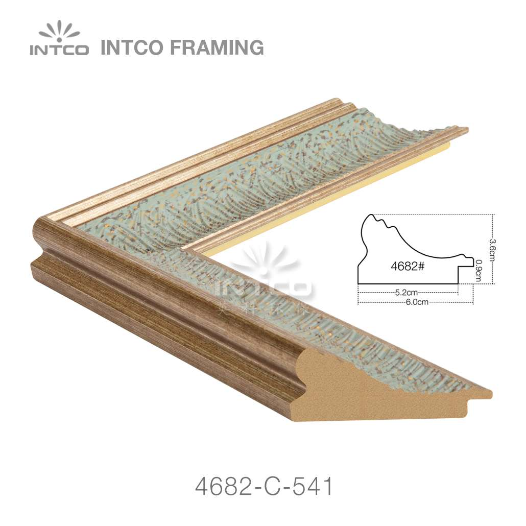4682-C-541 PS plastic picture frame moulding