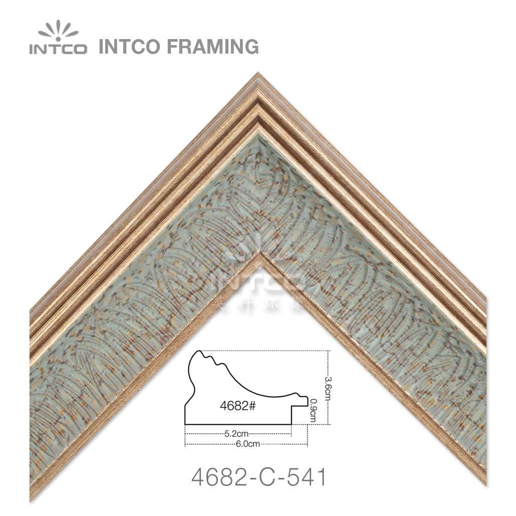4682-C-541 picture frame moulding in lengths