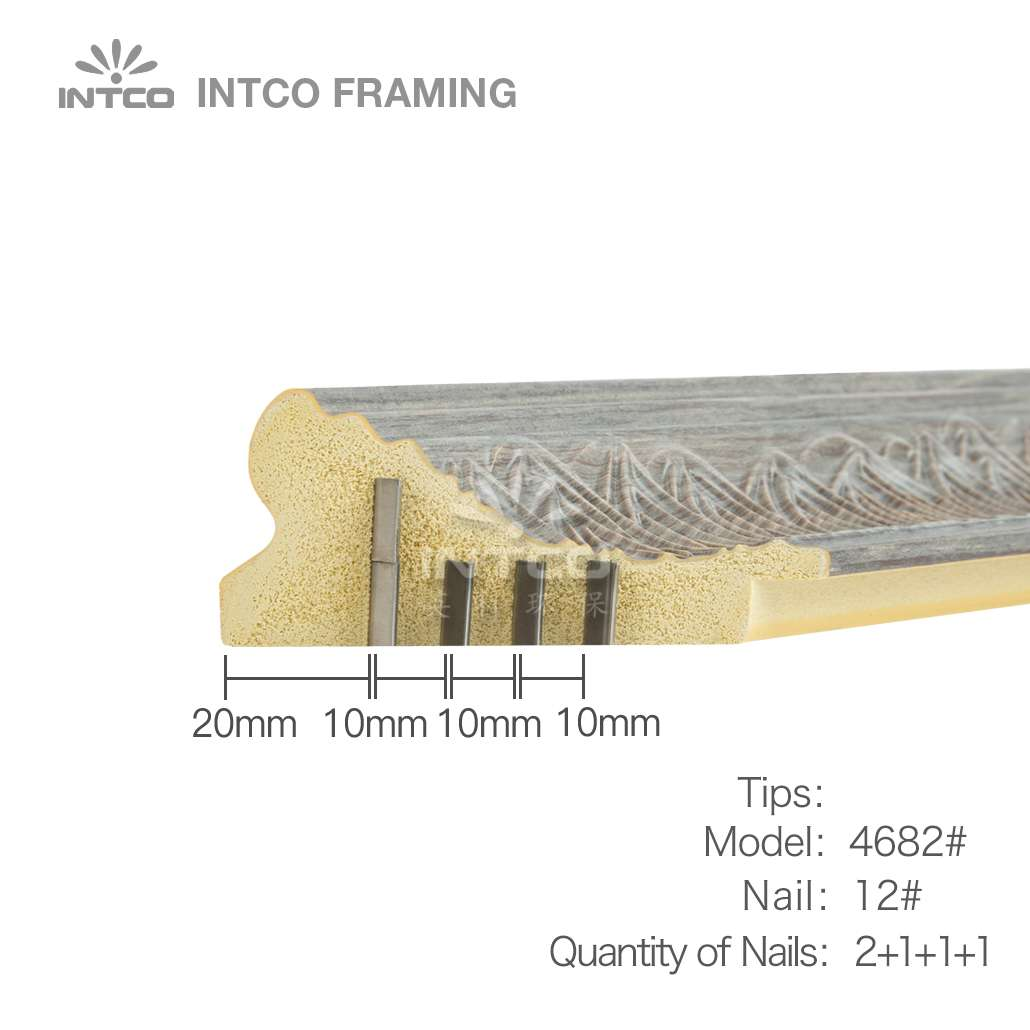 nailing tips for #4682 picture frame moulding