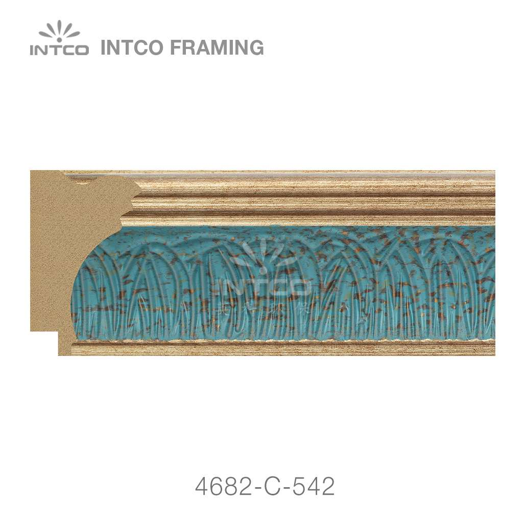 4682-C-542 picture frame moulding by foot