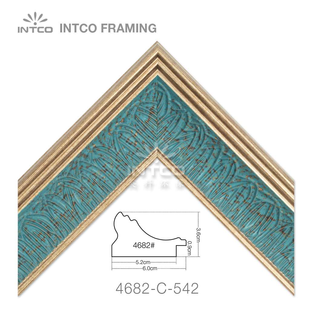 4682-C-542 picture frame moulding in lengths