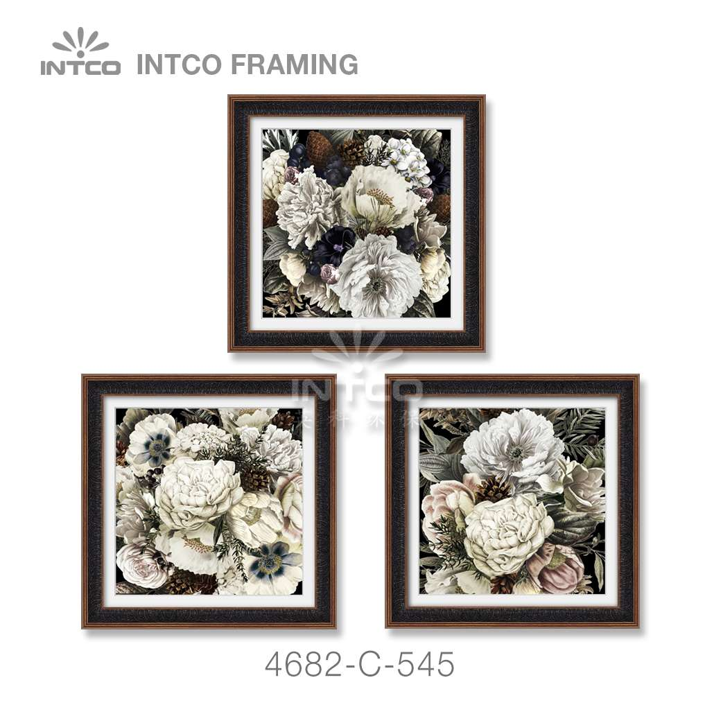 #4682 picture frame moulding ideas for flower subject wall frames