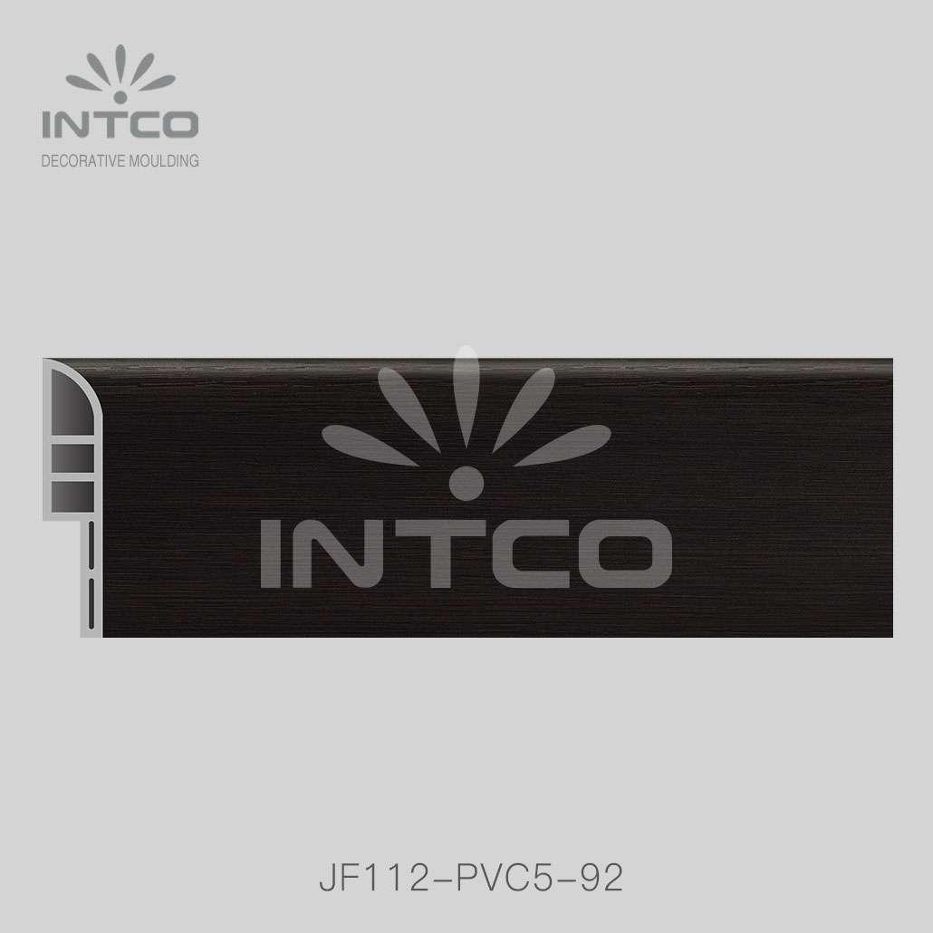 plastic skirting board for laminate flooring skirting board