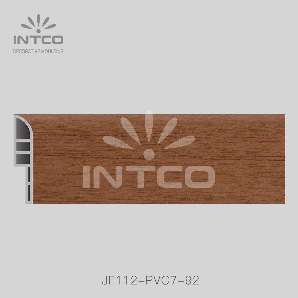 pvc skirting board  for laminate flooring