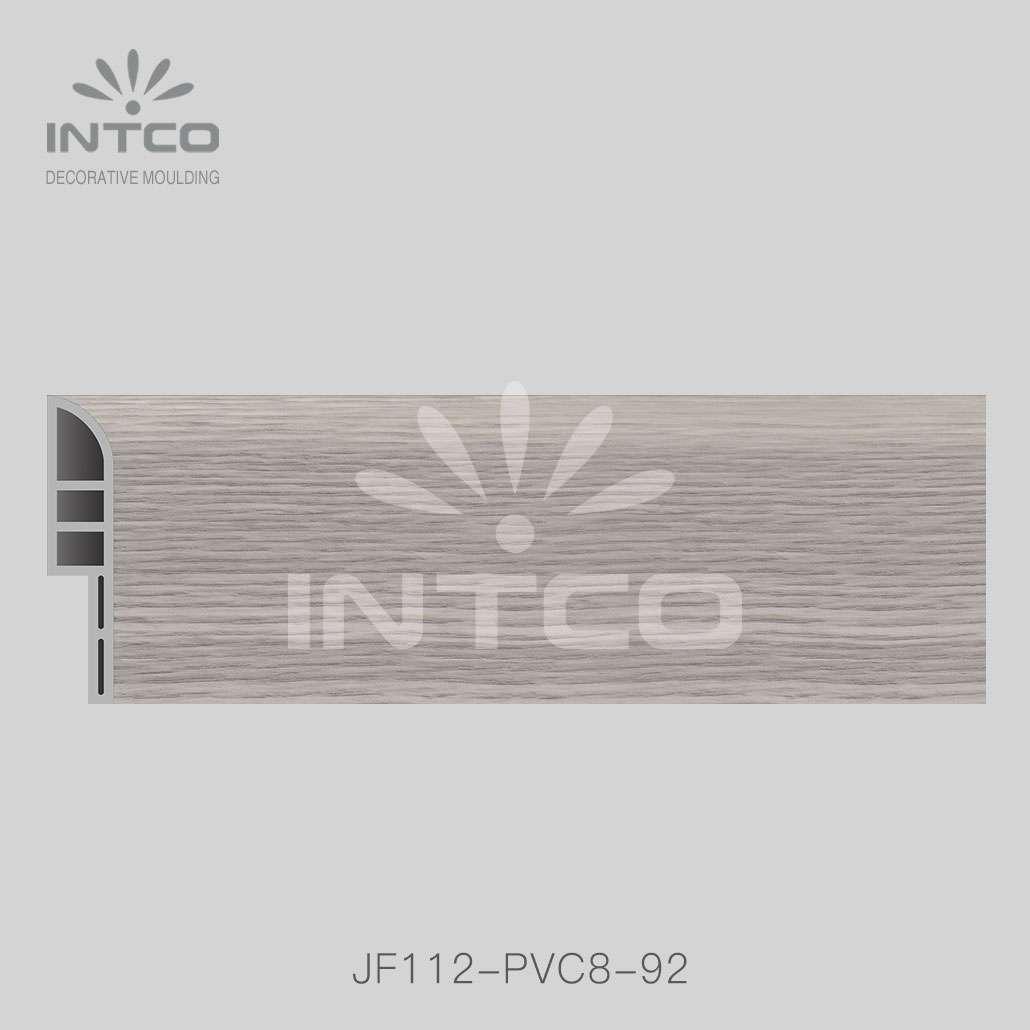 pvc skirting board for for laminate flooring