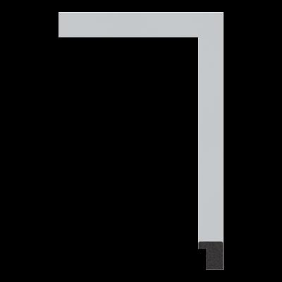 023-Y PS art frame moulding corner sample