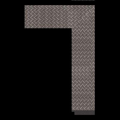 1862-YH-211 polystyrene picture frame moulding corner sample