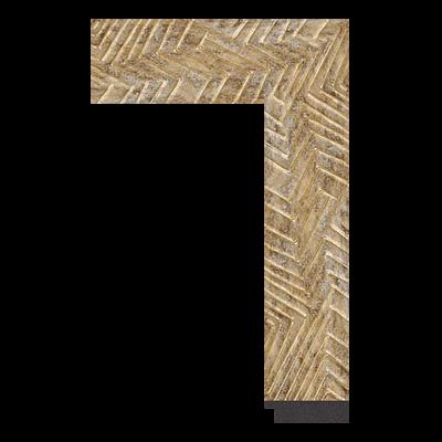3383-ZM-2462 PS mirror frame moulding corner sample