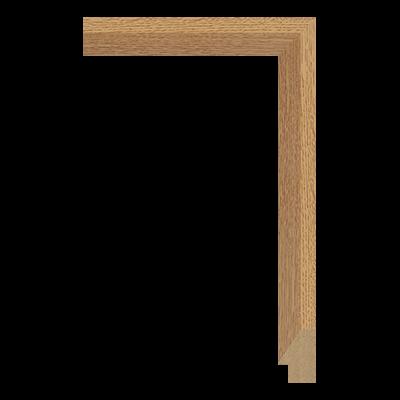 M0342-MW-H30 MDF picture frame moulding corner sample