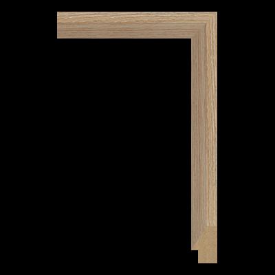 M0342-MW-H38 MDF picture frame moulding corner sample