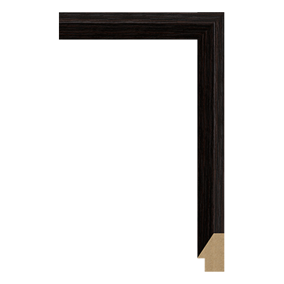 M0342-MW-H5 MDF picture frame moulding corner sample