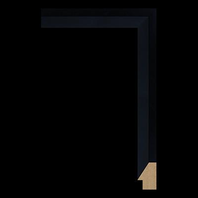 M0342-MW-H6 MDF picture frame moulding corner sample