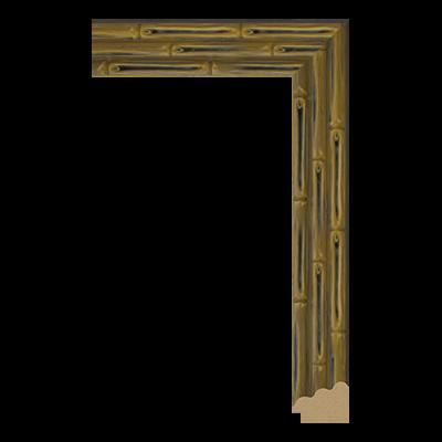 P6457-A-7M PS unfinished art frame moulding