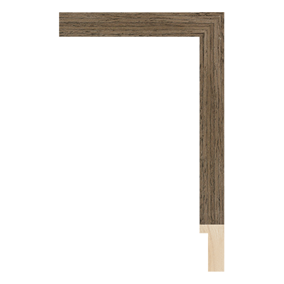 SW001-24WV wood picture frame moulding