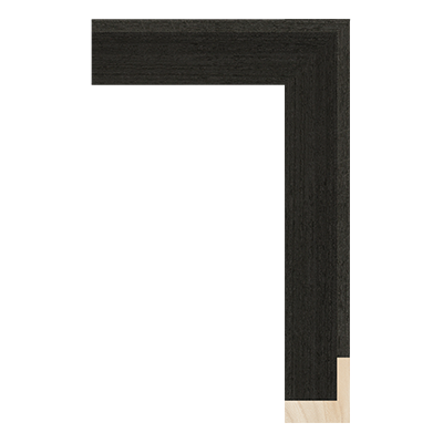 SW011-20WV wood picture frame moulding corner sample