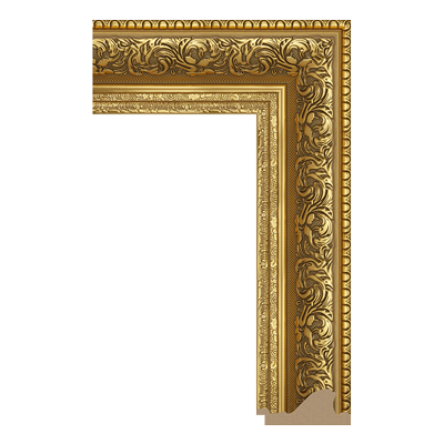 INTCO 1539-G081 classic polystyrene picture frame moulding