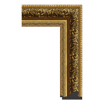 INTCO 1539-X8971 classic polystyrene picture frame moulding