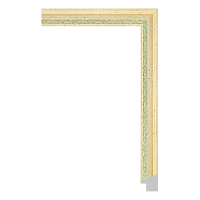 P6731-A-042 PS patina photo frame moulding