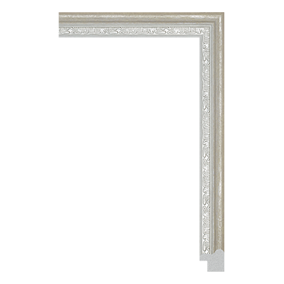 P6731-A-072 PS patina photo frame moulding
