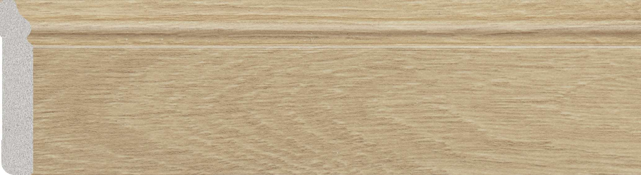 oak plastic skirting board