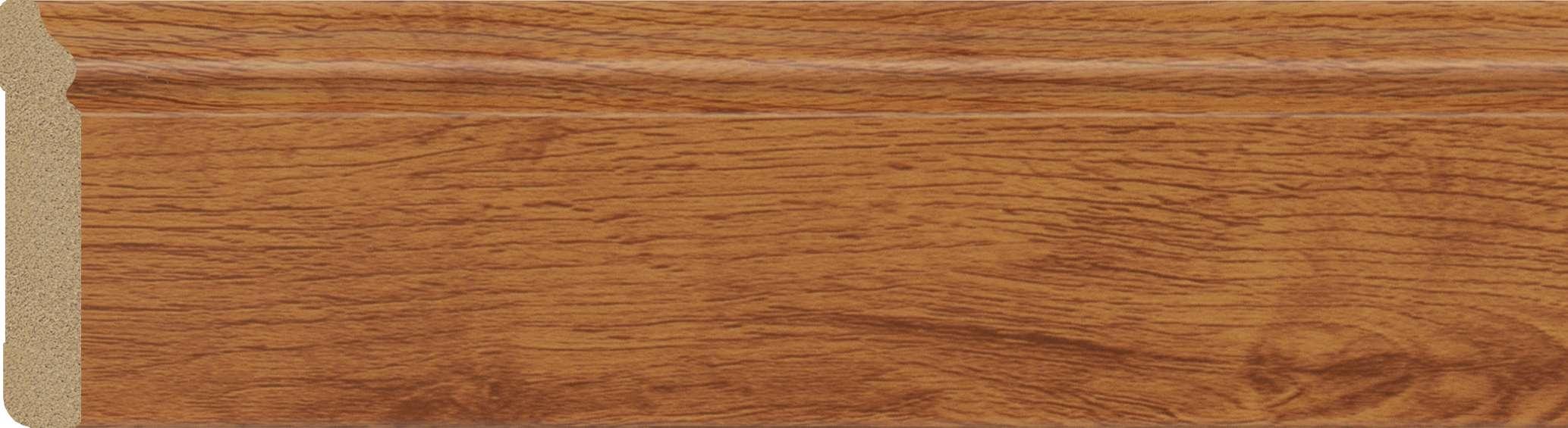 walnut plastic skirting board