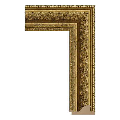 INTCO 1539-G388 classic polystyrene picture frame moulding